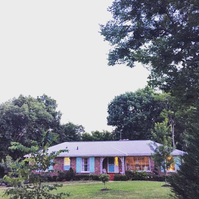 Patsy Cline's dream home.