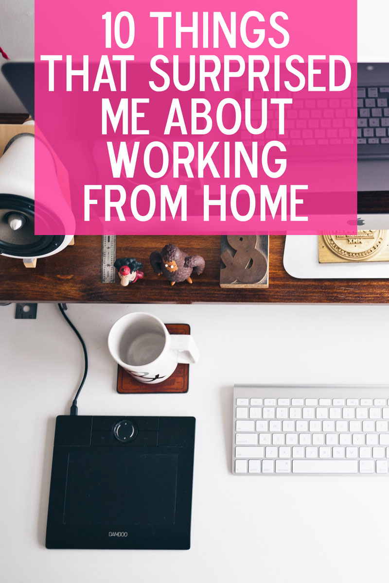 I love working from home, except when I don't.