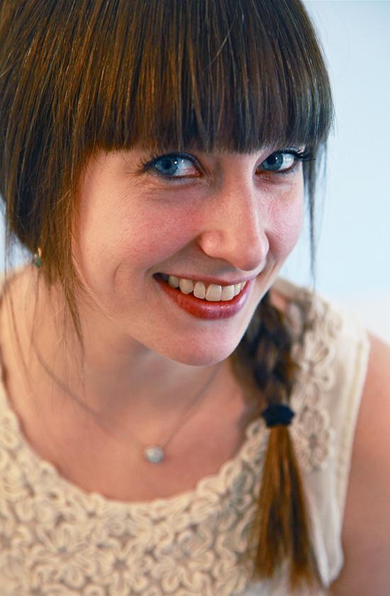 Migraines? What migraines? Emily Levenson looks pretty darn happy these days.