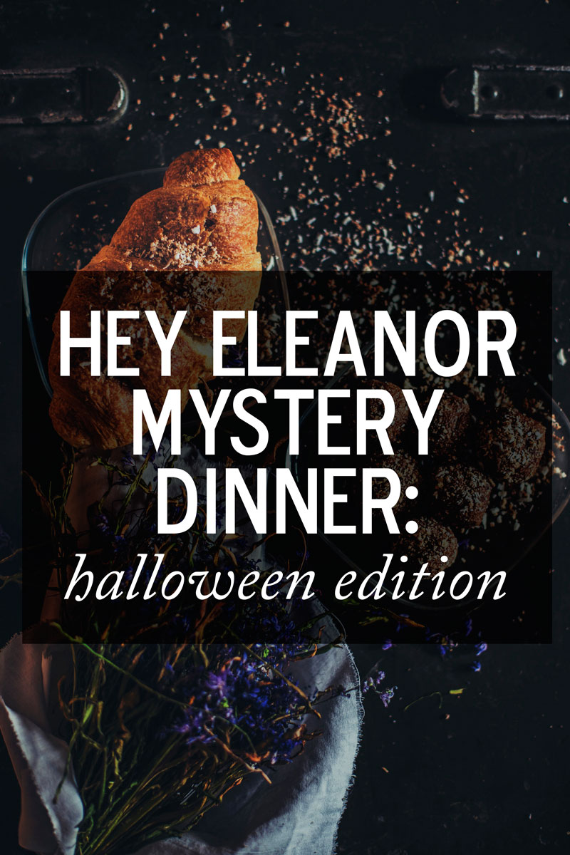 Join me for dinner, if you dare.