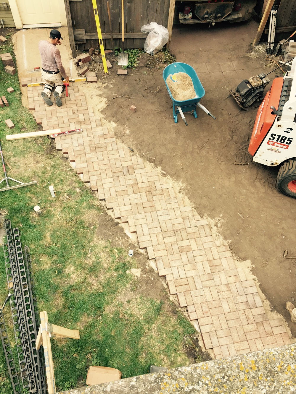Look at that paver walkway = || = || =