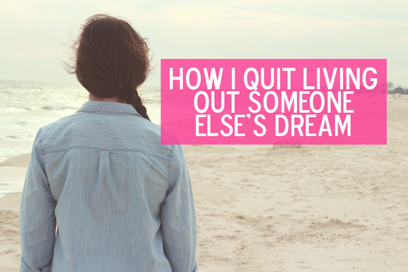 What happens when you realize your dreams differ from what your parents want?