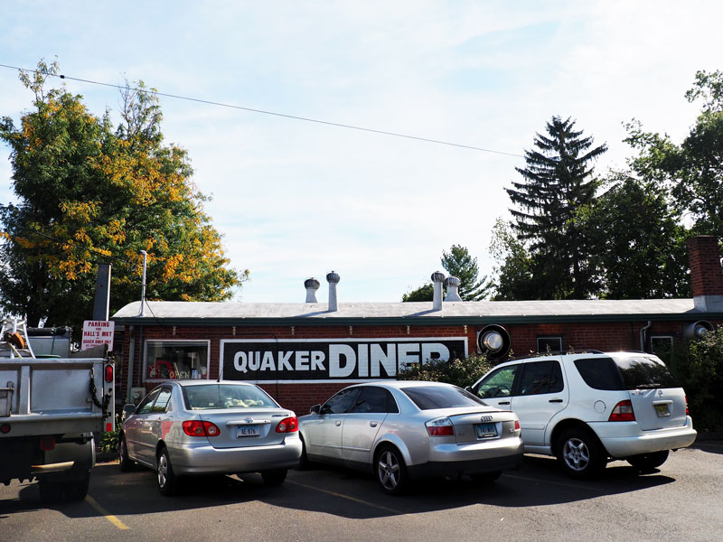 The Quaker Diner in West Hartford, CT