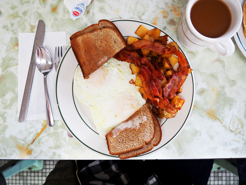 Classic American Breakfast, the way it's supposed to be!