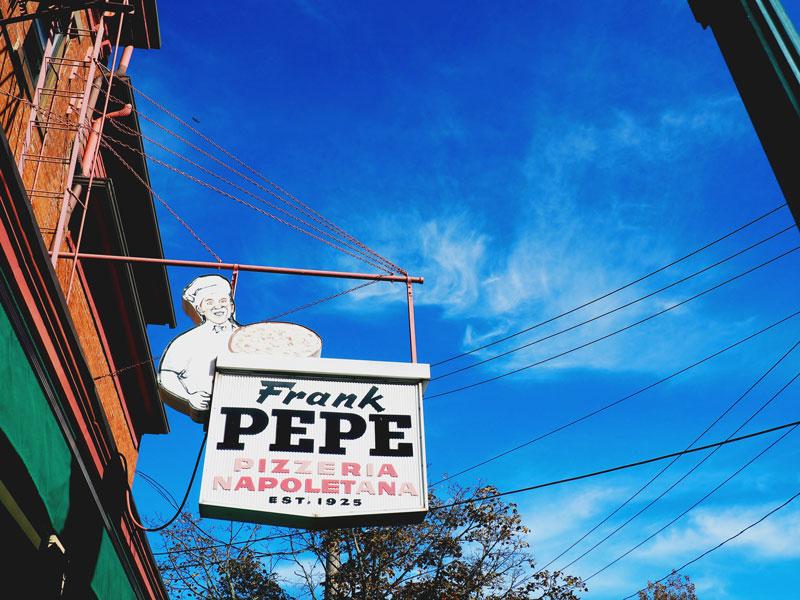 Frank Pepe's: Apizza Apilgrimage