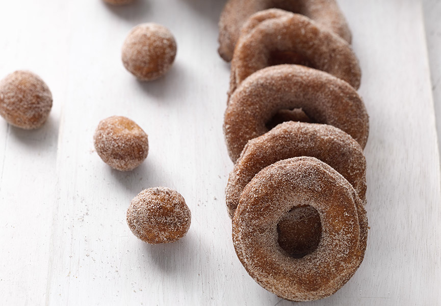 Gluten-Free doughnuts can be delicious (if Zoe Francois is behind the recipe). Photo by Stephen Scott Gross