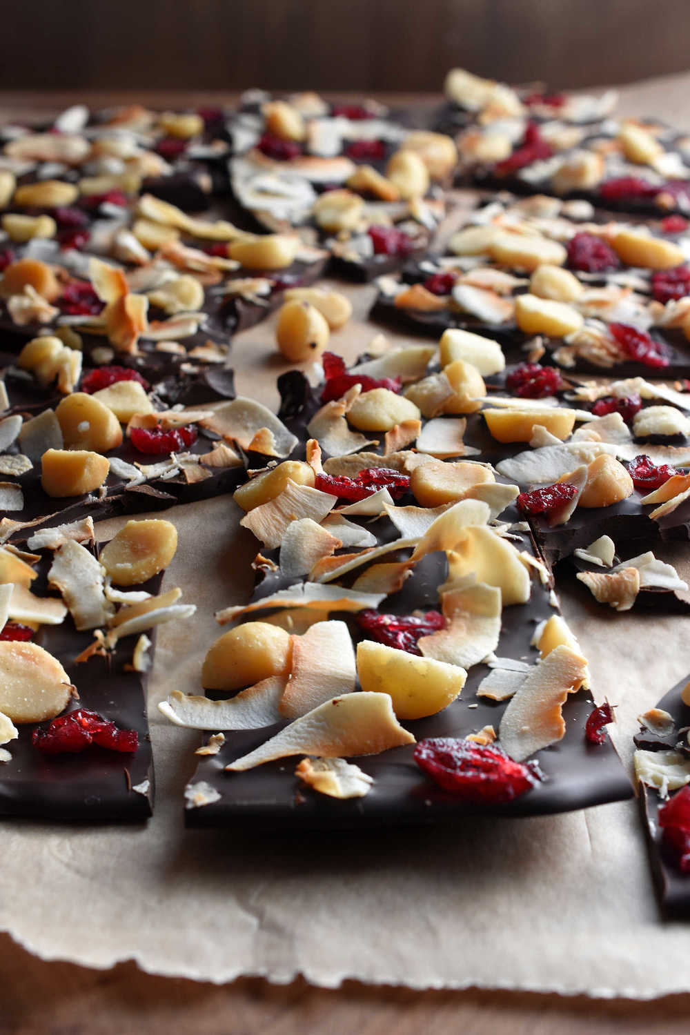 Coco Nutty Dark Bark: Eat some, and give some as a gift.