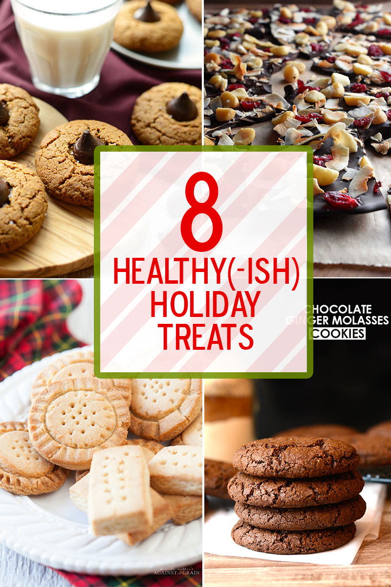 Instead of crying yourself to sleep every night of December because your tummy hurts, why not make healthier treats in the first place?You might be pleasantly surprised how little you (and your persnickety family)notice the omission of the naughty stuff.