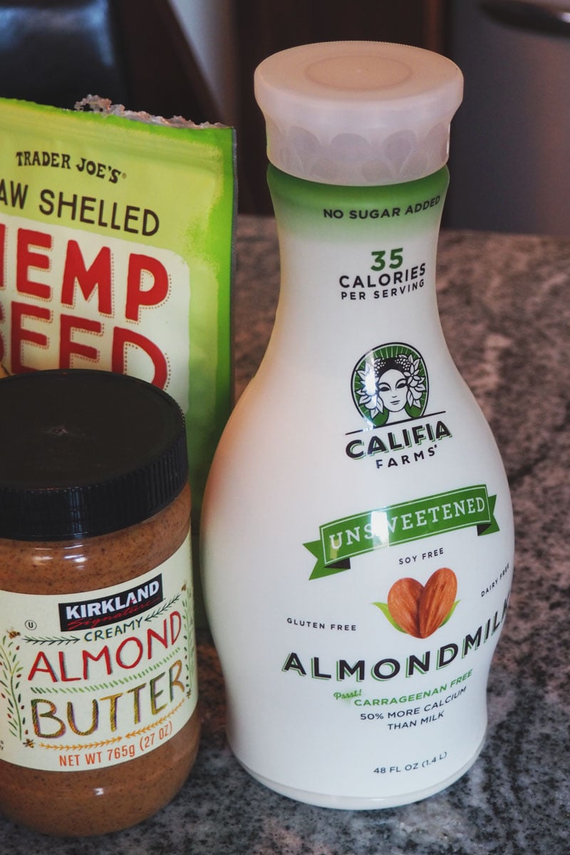 Califia Farms almond milk... or as I like to call it, Wiz Khalifa Farms.