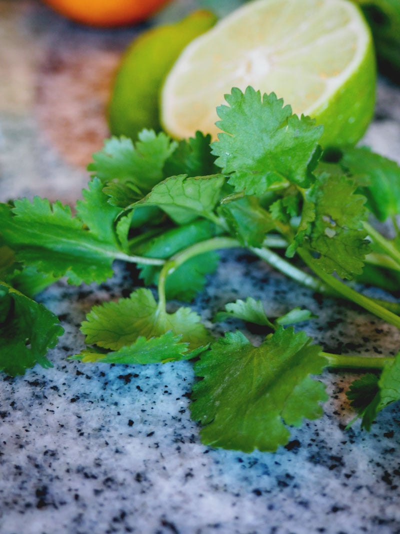 Cilantro, not just for salsa anymore.