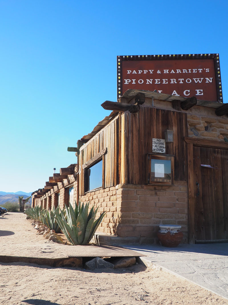 Pappy & Harriet's Palace - Pioneertown, California.