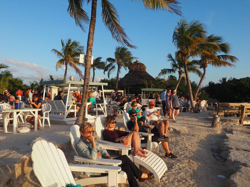 Sunset at Lor-e-lei Cabana Bar | Islamorada, Florida