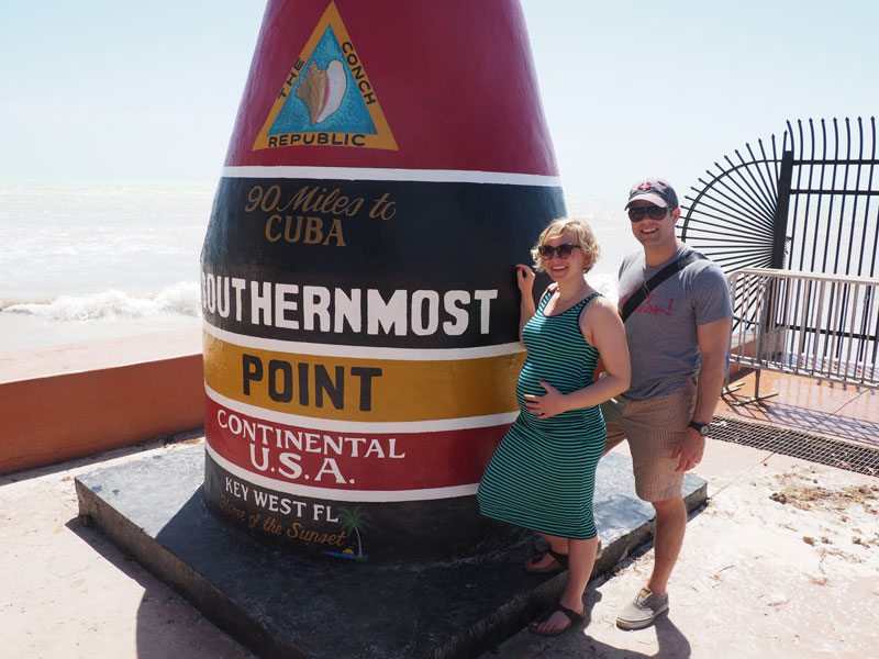 Southernmost Pregnant Lady | Key West, Florida