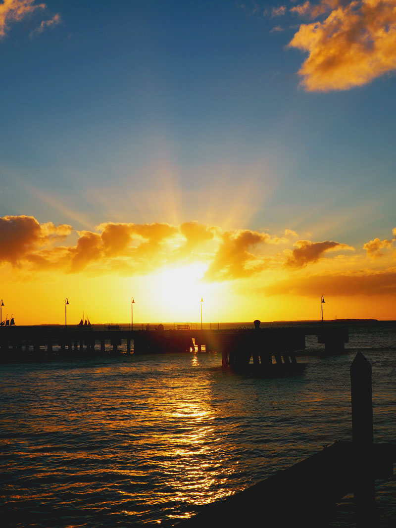 Sunset at Mallory Square | Key West, Florida