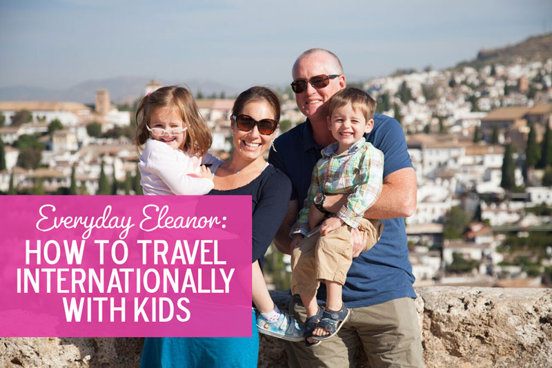 Dream of traveling internationally with kids? It can be done!