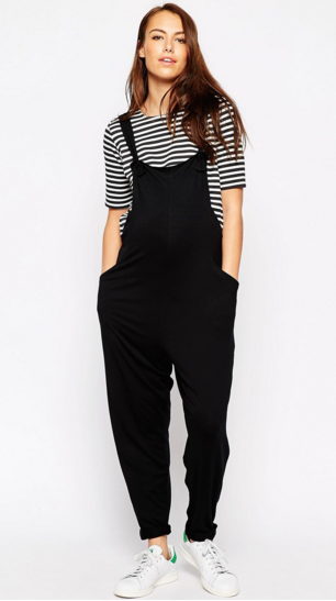 Pregnancy overalls are a great thing. |28 Things That Will Make Your Pregnancy Better