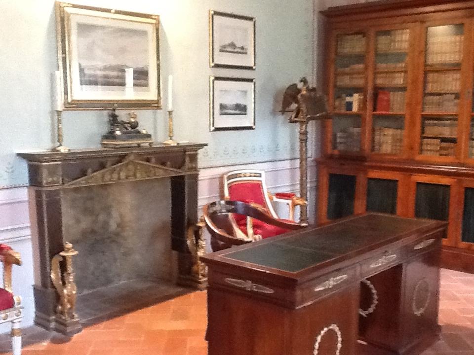 Napoleon's study at Palazzina dei Mulini