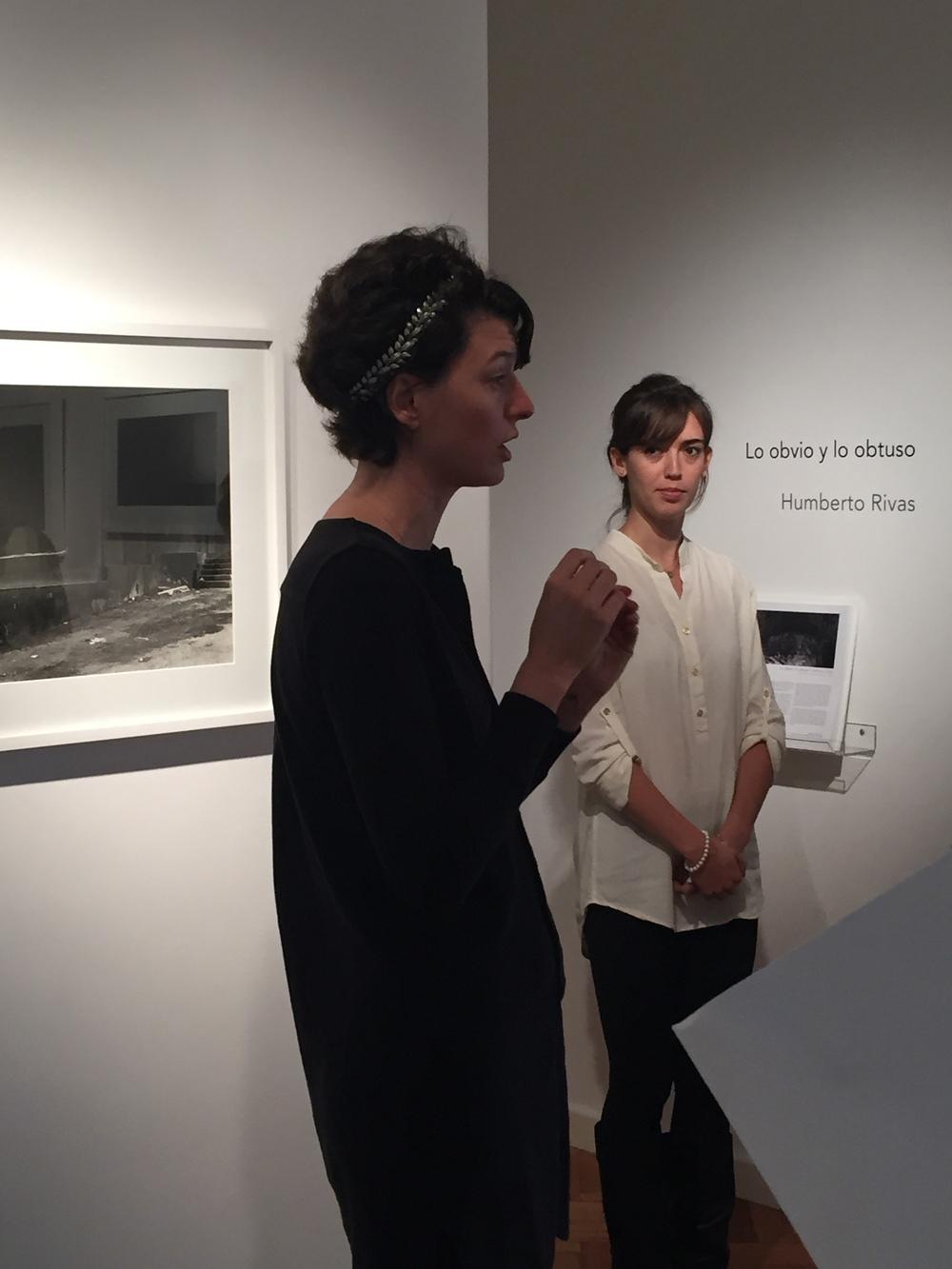 Florencia Giordana Braun and Natasha Slotopolsky of Rolf Art