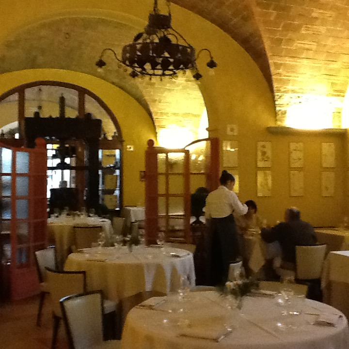Lunch at Osteria di Passignano.