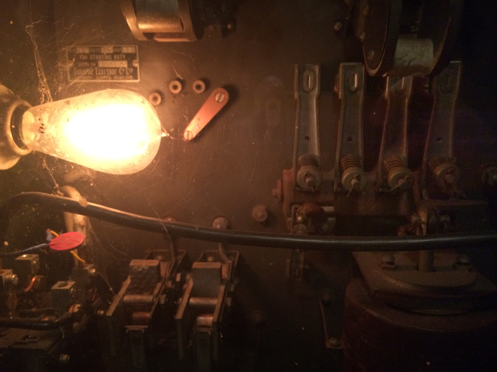 This incandescent lightbulb is DC powered and has been burning non-stop since 1960. The sole purpose of this light? To keep the mechanical circuits of the telescope from freezing in the winter. #EasyBakeTelescope