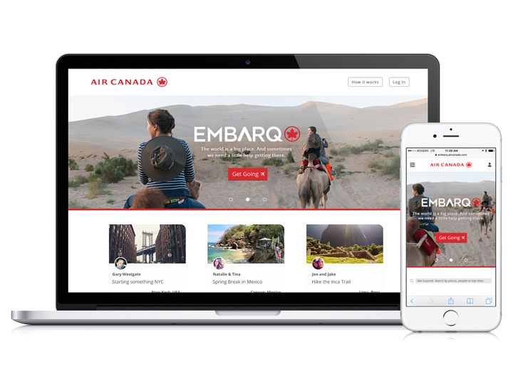 Embarq.ca homepage