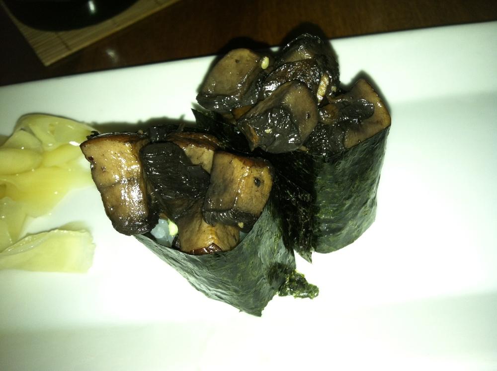Mushroom Sushi $7