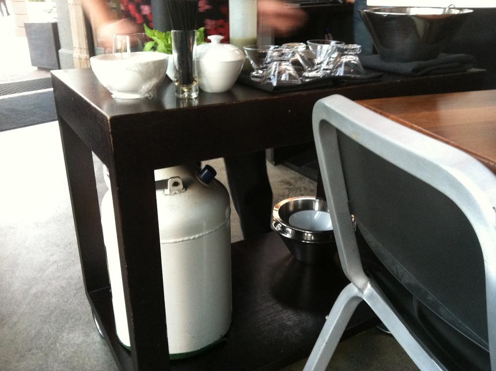 Liquid nitrogen tank!