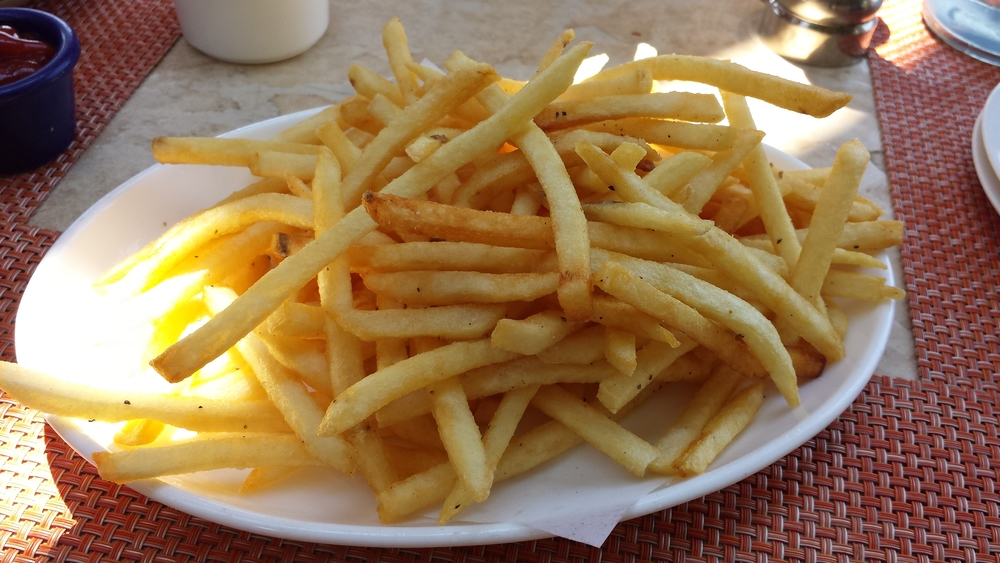 Salt & Pepper French Fries.  $5