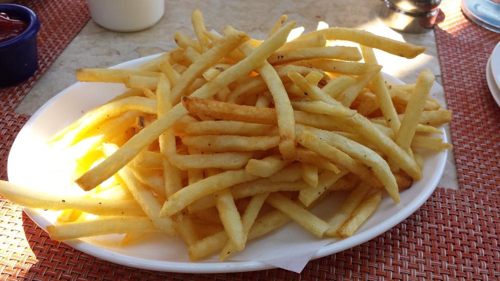 Salt & Pepper French Fries. $5