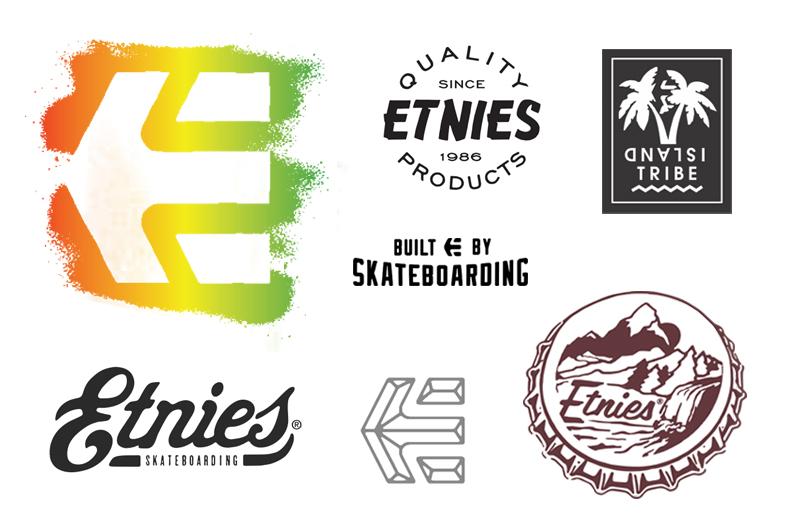 etnies chadski graphic design