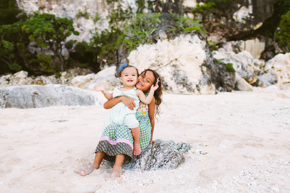 Forrest Family | Tarague Beach, Guam | Victoria Heer Photography