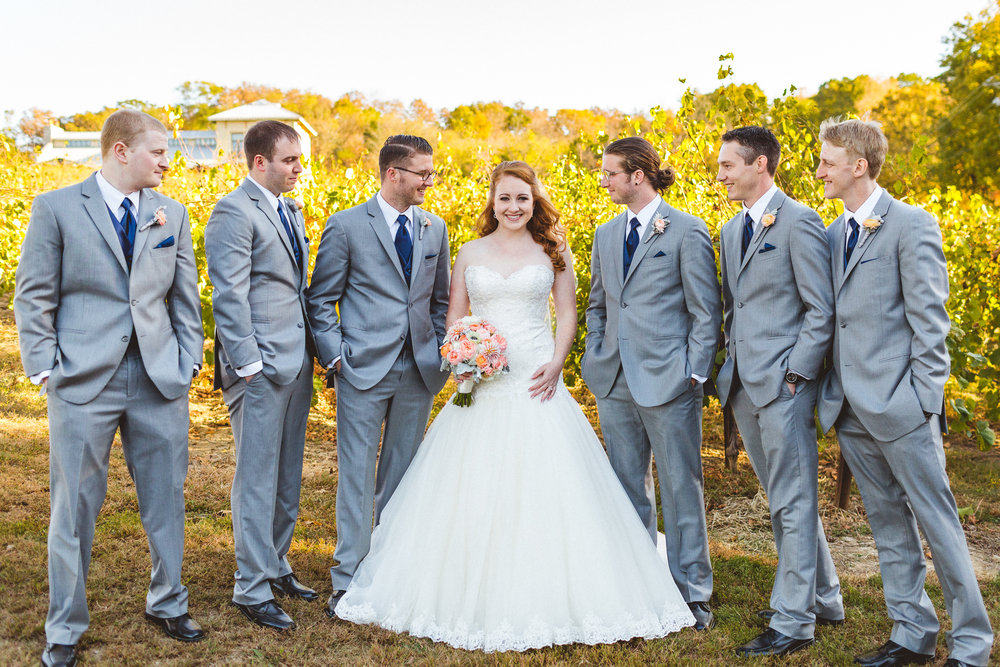 Jess + Jeff | Chandler Hill Vineyard Wedding | Victoria Heer Photography