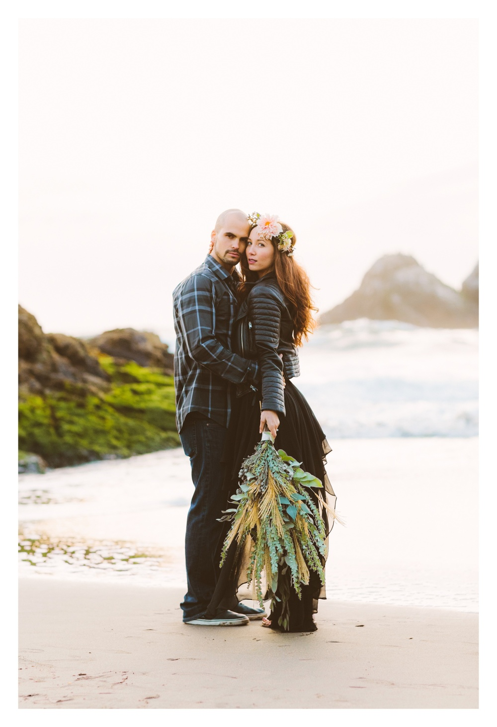 sutro baths engagement | victoria heer photography