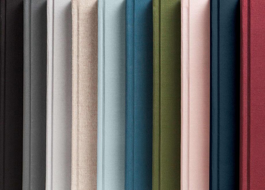 Coal, Smoke, Light Gray, Oatmeal (textured), Light Blue, Marine, Olive, Blush, Navy, Merlot