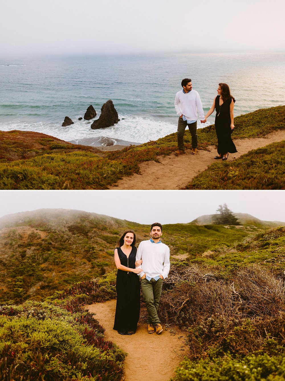 victoria heer | victoria heer photography | san francisco wedding photographer | rodeo cove engagement