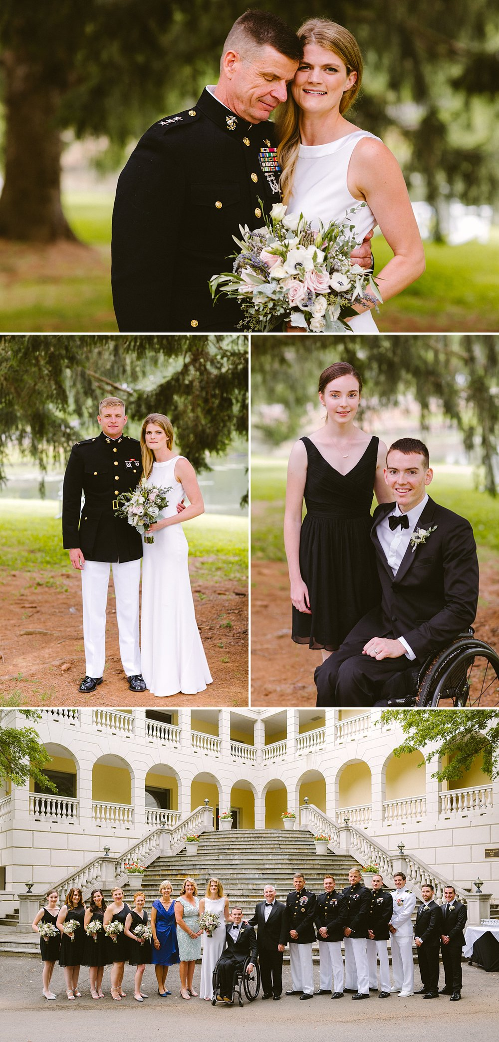 Victoria Heer Photography | Airlie Wedding | Garden Wedding | Warrenton, VA Wedding | Marine Corps Wedding | Naval Academy Wedding