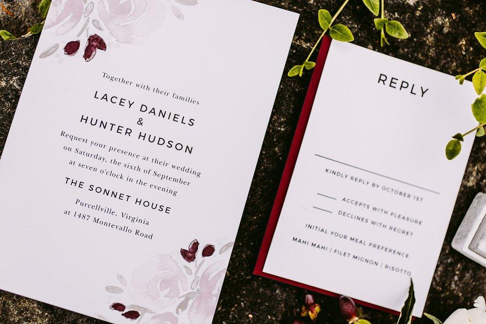 Basic Invite Customizable Wedding Invitations Victoria Heer