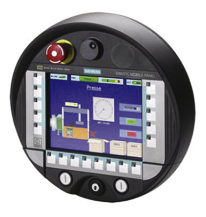Mobile HMI: Notional Universal (i.e. interoperable) Pendant. Source  link .