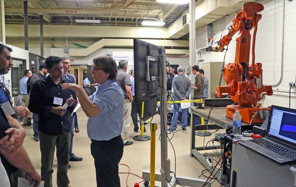 Explaining the Robotic Blending Process.