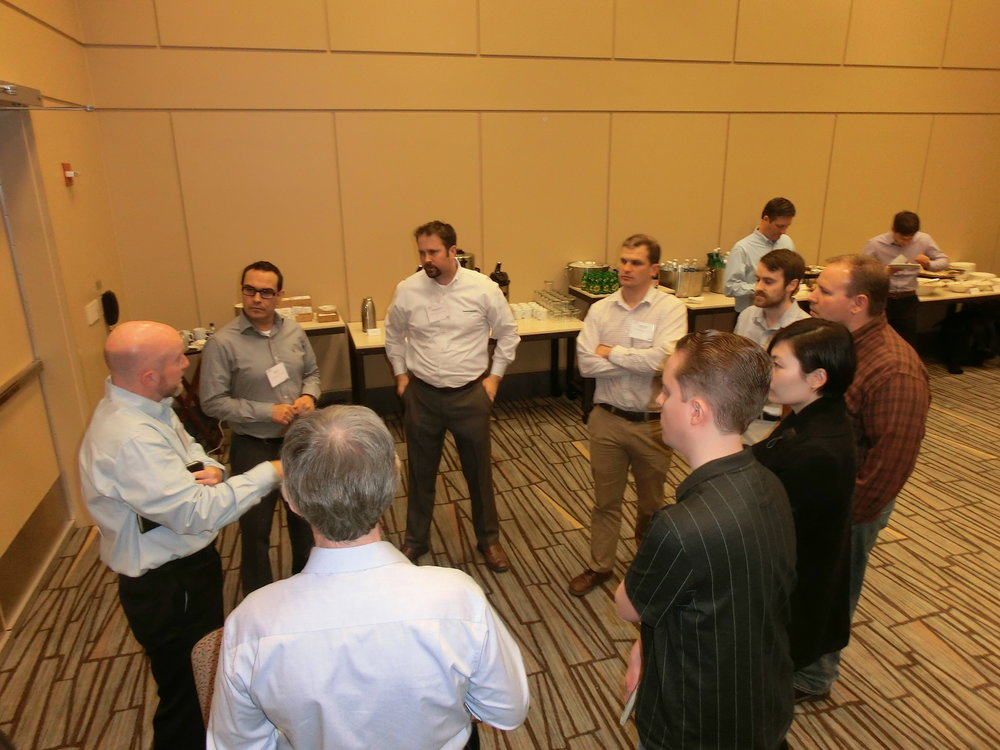 Meeting attendees also met with Focused Technical Project moderators to talk about one of the five new project topics that were introduced for 2017.