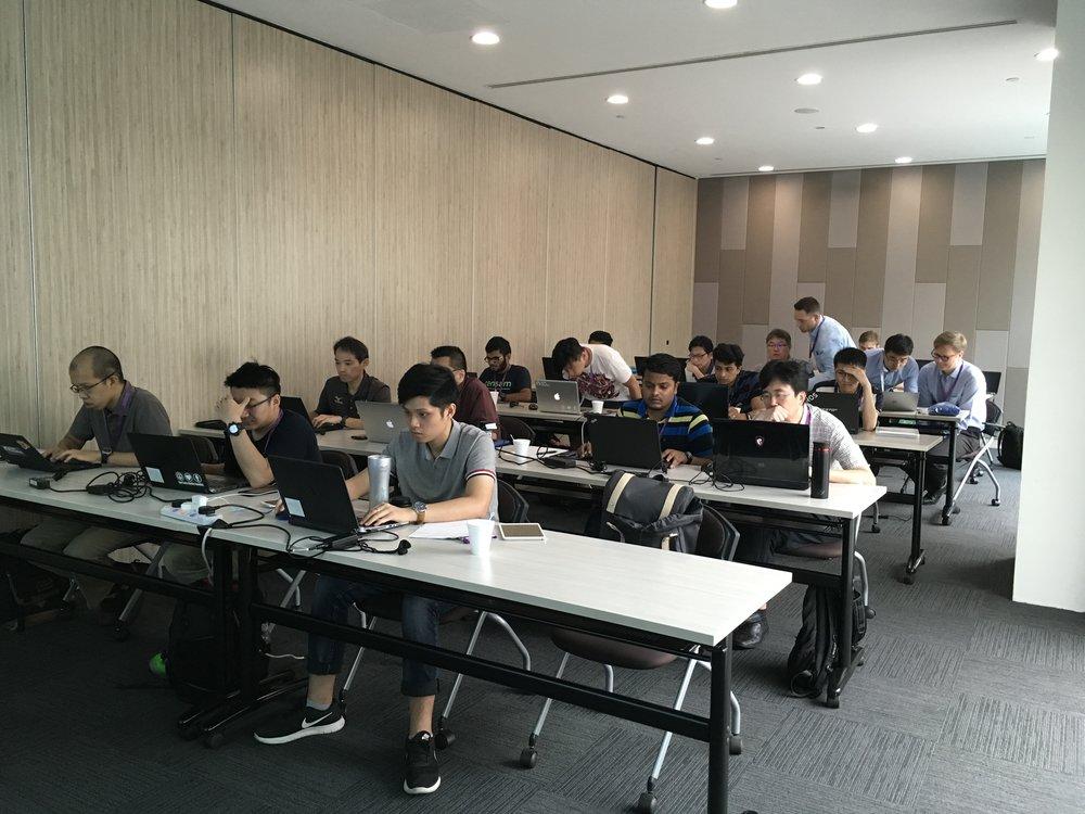 ROS-Industrial developer's training calss