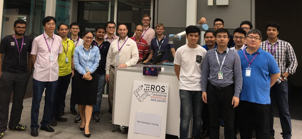ROS-I Developer's Basic Training-Singapore Aug2017