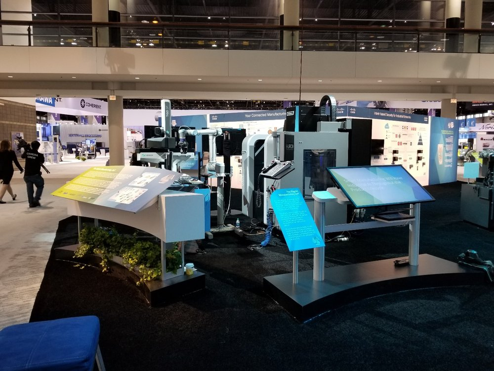 Figure 1. Demo at the ETC at IMTS