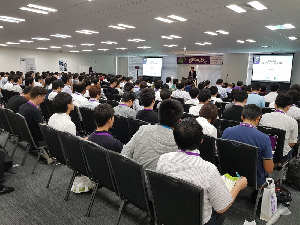Fig 1.  Presentations by various speakers in the fully packed seminar room