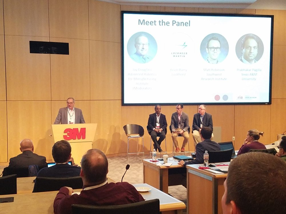 Panel on advances in surface finishing moderated by Jay Douglass of the ARM Institute