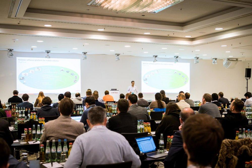 Milad Geravand (Bosch Engineering) at ROS-Industrial Conference 2018
