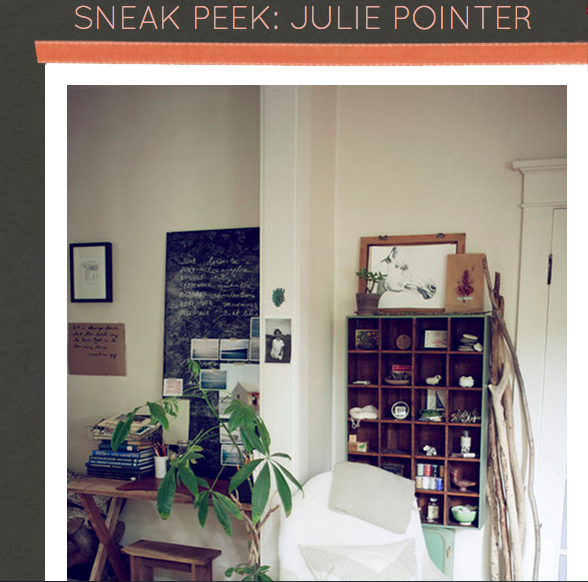 JULIE POINTER, '11 - DESIGN SPONGE