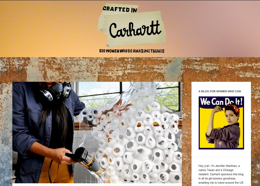 Crafted in Carhartt : Ximena Bedoya '14