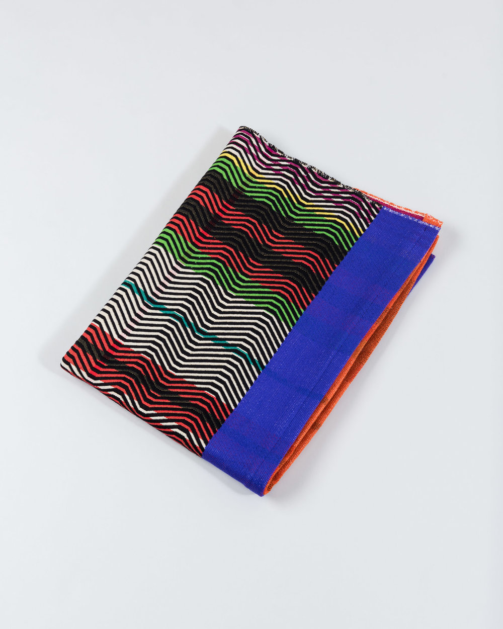 Sarah Wertzberger,  blanket , merino wool + cotton.