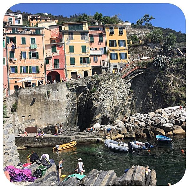 Some much needed down time for the next few days!  #italy #cinqueterra #travel #seetheworld #travelwithkids